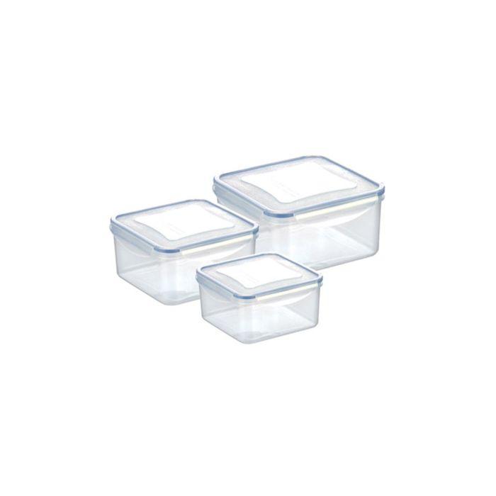 Набор контейнеров Tescoma FRESHBOX, объёмы: 1,2 л, 2 л, 3 л