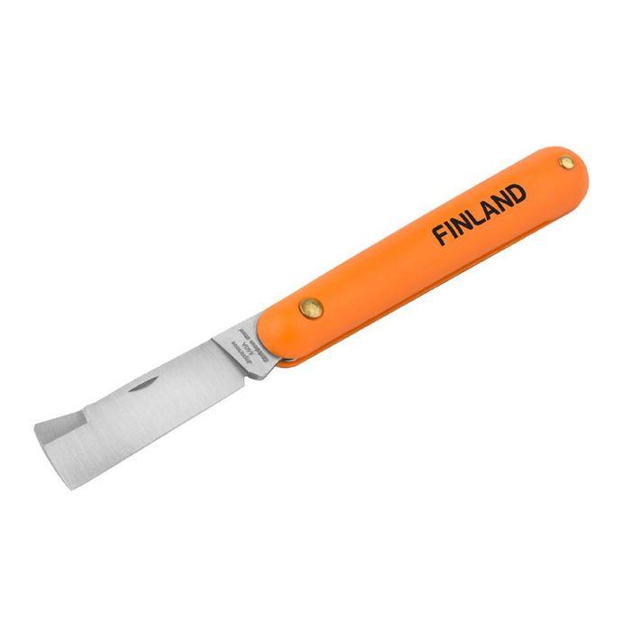 Нож прививочный, нержавеющая сталь Finland
