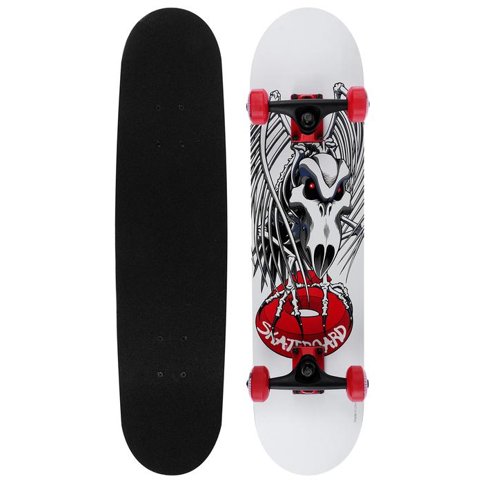 Скейтборд «Ястреб», колёса PU, d=50 мм, ABEC 9, алюминиевая рама, канадский клён 9 слоев