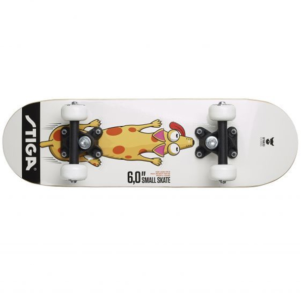 Скейтборд Stiga DOG 6.0, белый