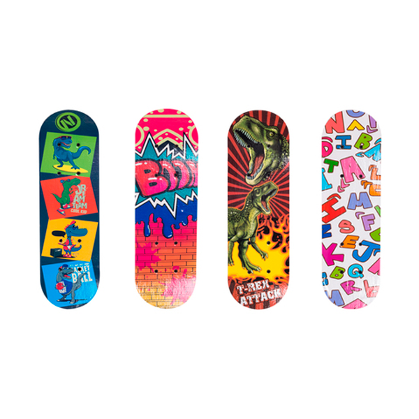 Скейтборд X-Game С разноцветными рисунками