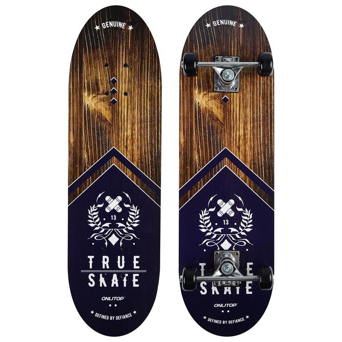 Скейтборд подростковый TRUE SKATE, 71х20 см, колёса PVC d=50 мм