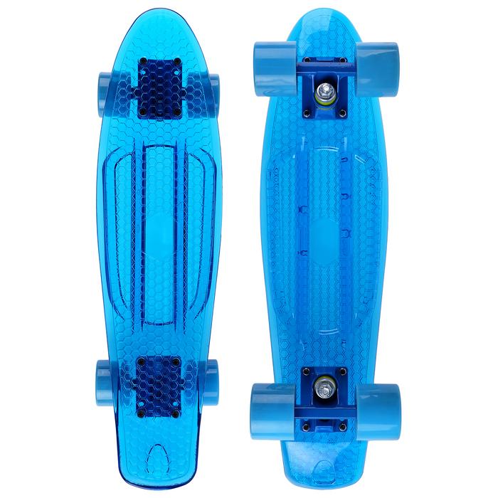 Скейтборд YB-2406, колёса PU d=6 см, ABEC 7, цвета микс