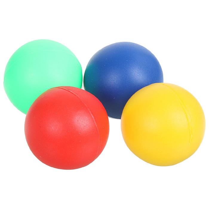 Шарики мягкие для детского бадминтона в сетке, цвета МИКС