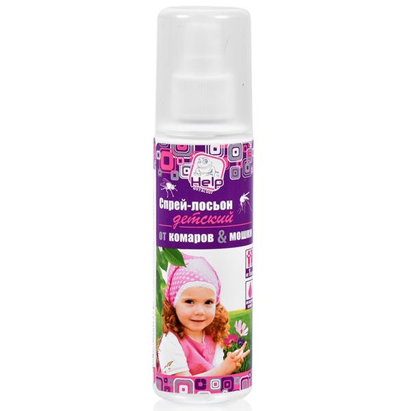 Спрей-лосьон детский от комаров и мошек Help 80522