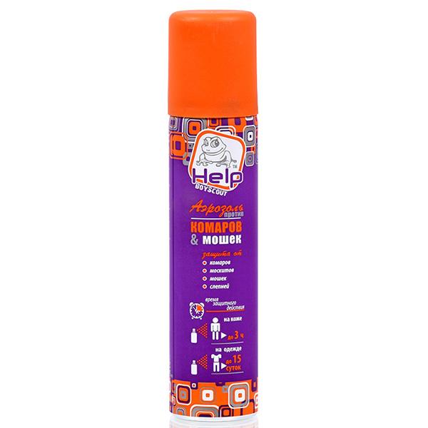 Аэрозоль от комаров и мошек Help 80220