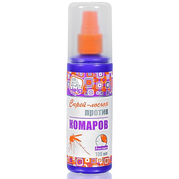 Спрей-лосьон от комаров Help 80510