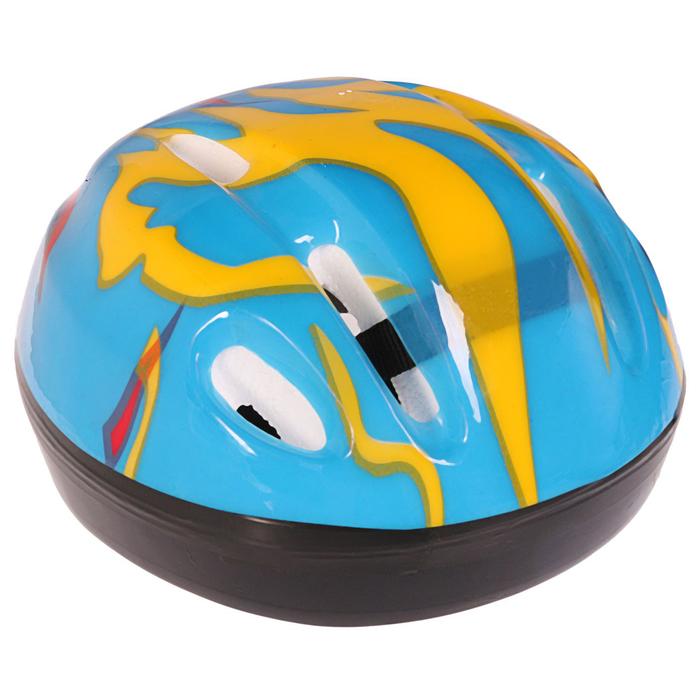 Шлем защитный детский OT-H6, размер S (52-54 см), цвет синий