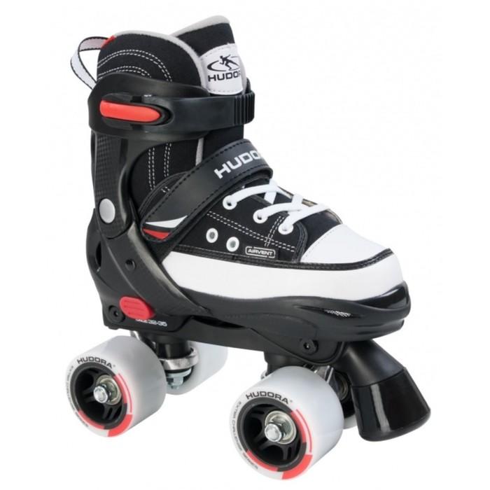 Роликовые коньки HUDORA Rollschuh Roller Skate, цвет черный, 28-31