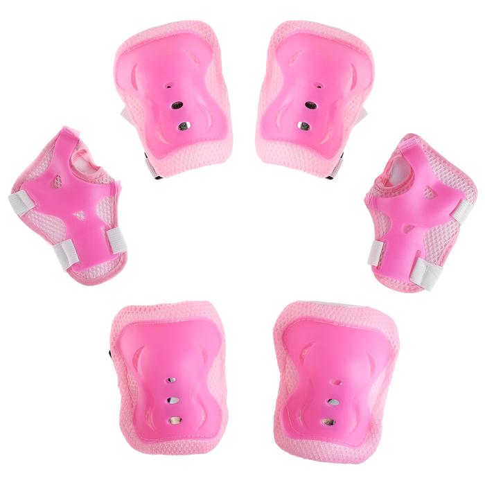 Защита роликовая OT-2020 р L, цвет розовый