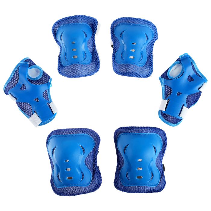Защита роликовая OT-2020 р S, цвет синий 134227