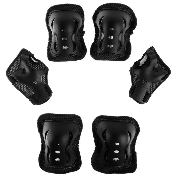 Защита роликовая OT-2020 р S, цвет черный