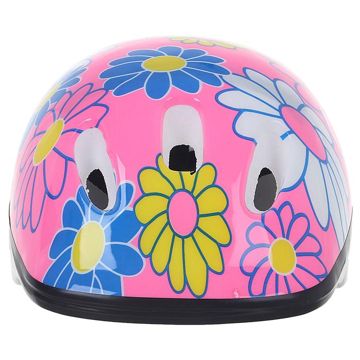 Шлем защитный OT-SH6 детский, р S (52-54 см), цвет розовый