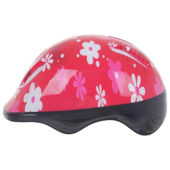 Шлем защитный OT-SH6 детский, р S (52-54 см), цвет красный