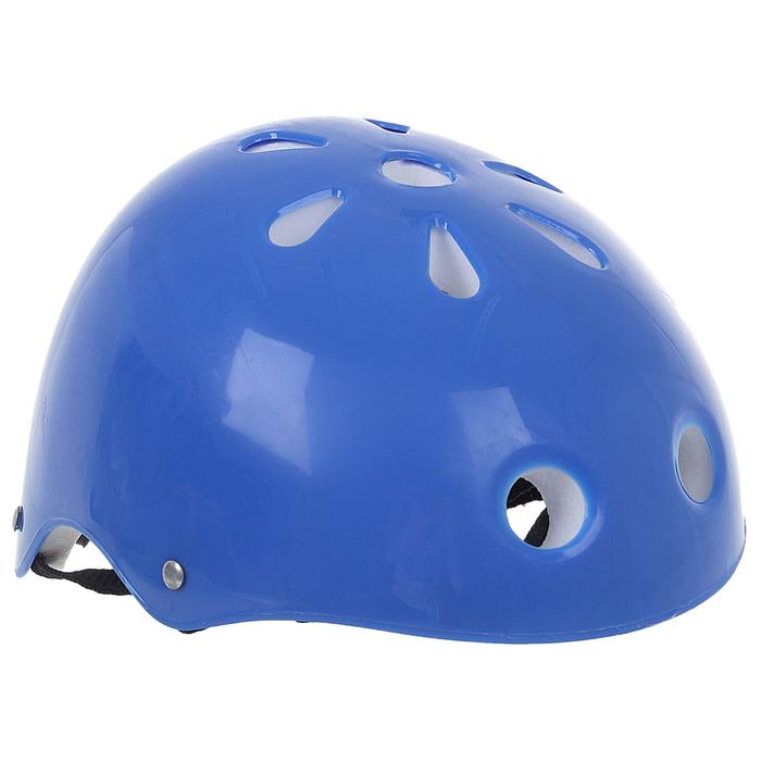 Шлем защитный OT-M301 детский, 55 см, синий