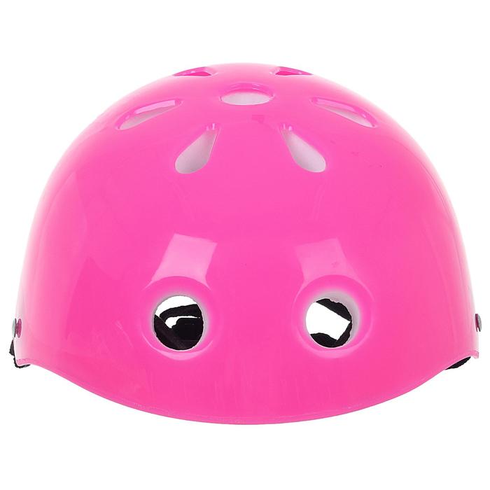Шлем защитный OT-S507 детский, 55 см, розовый