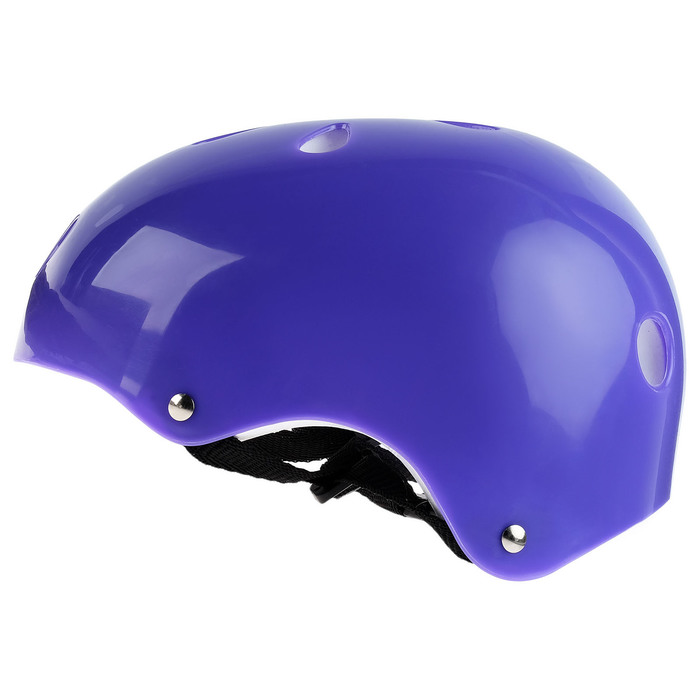 Шлем защитный OT-S507 детский, d= 55 см, цвет фиолетовый
