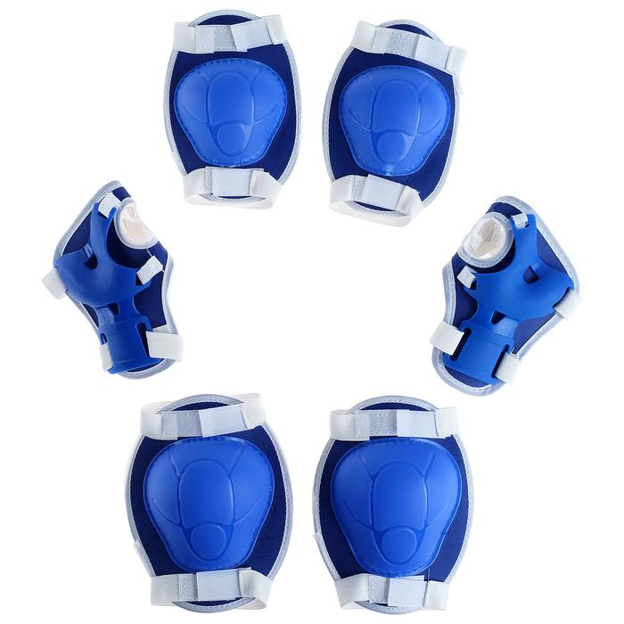 Защита роликовая OT-2017, размер универсальный, цвет синий