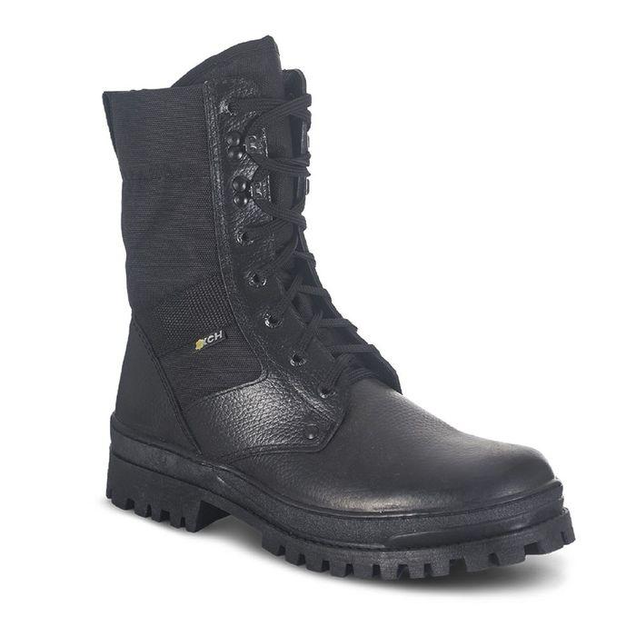 Ботинки мужские «Охрана», облегчённые, цвет чёрный, камбрель, размер 38