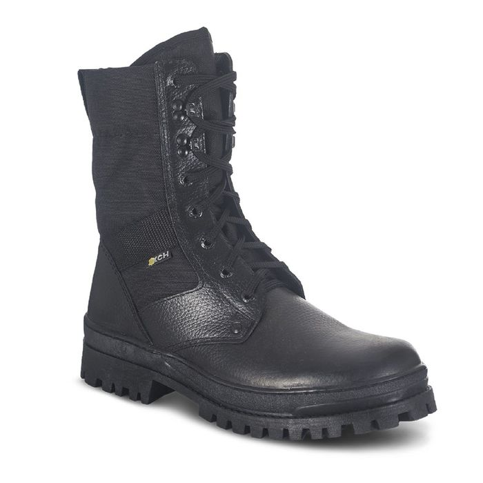 Ботинки мужские «Охрана», облегчённые, цвет чёрный, камбрель, размер 43