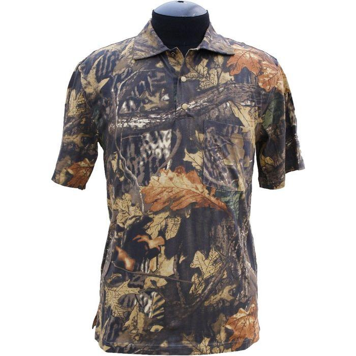 Рубашка с коротким рукавом, цвет лес, размер 62, рост 182-188