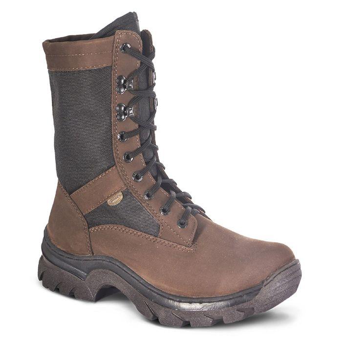 Ботинки мужские «Легионер», нубук, чёрная/камбрель, размер 42