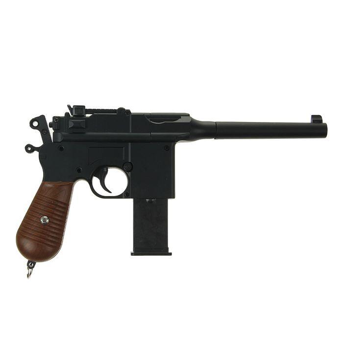 Пистолет пружинный Galaxy мини Mauser 712 G.12, клб 6 мм