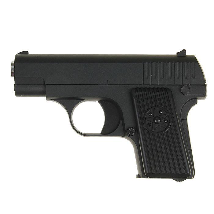 Пистолет пружинный Galaxy мини TT G.11, клб 6 мм