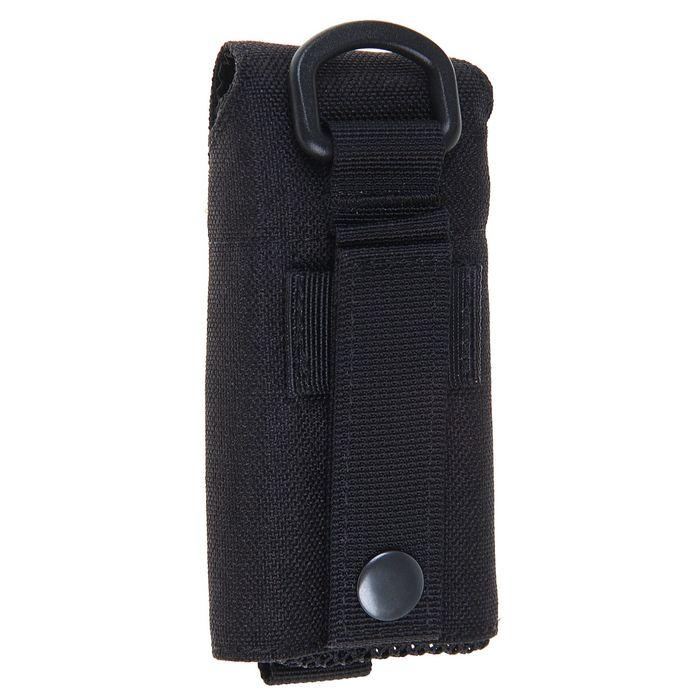 Подсумок Folding water bottle bag Black BP-17-BK, 0,5 л
