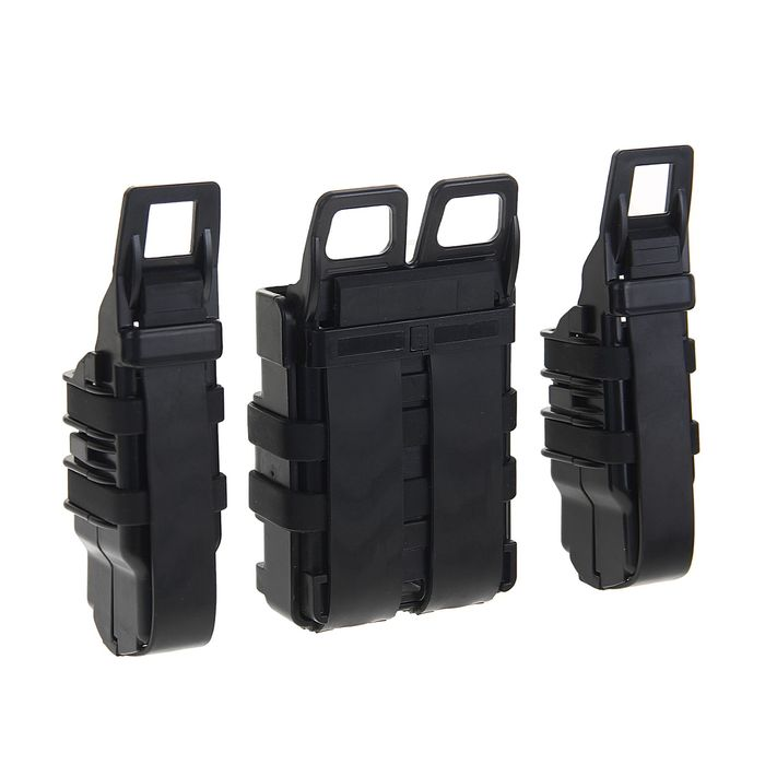 Подсумок Fast Mag accessory box of vest (L SIZE) Black MG-05-BK