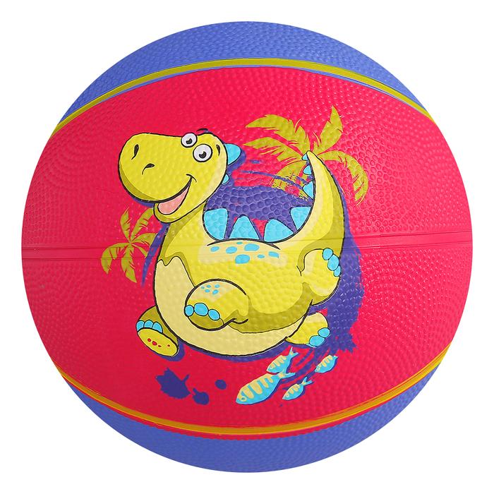 Мяч баскетбольный «Дракоша», размер 3, бутиловая камера, 280 г
