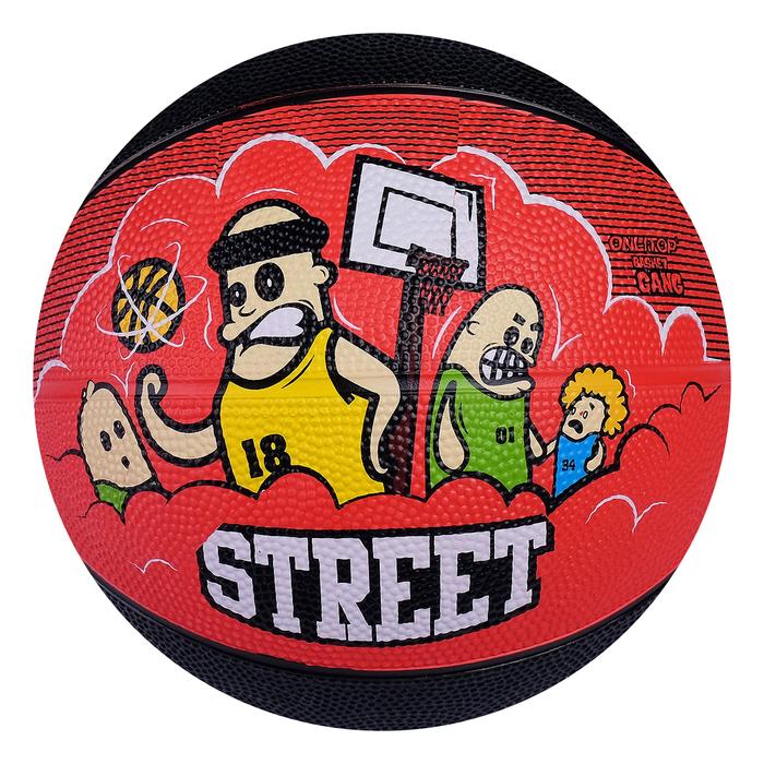 """Мяч баскетбольный ONLITOP """"STREET"""", размер 5, PVC, бутиловая камера, 400 г"""