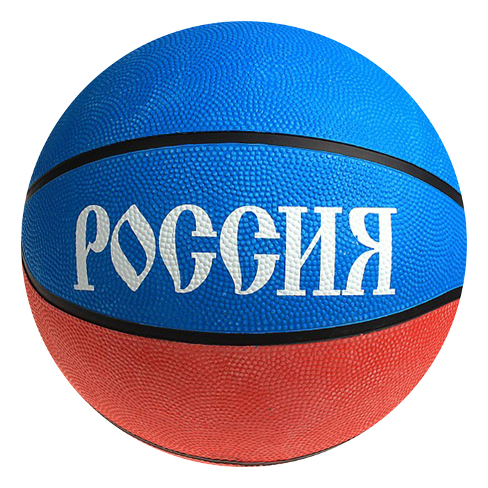 Мяч баскетбольный «Россия», резина, размер 7