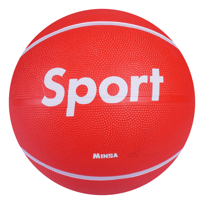 "Мяч баскетбольный MINSA ""Sport"", размер 7, PVC, бутиловая камера, 500 г"