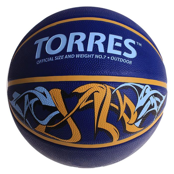 Мяч баскетбольный Torres Jam, B00047, размер 7
