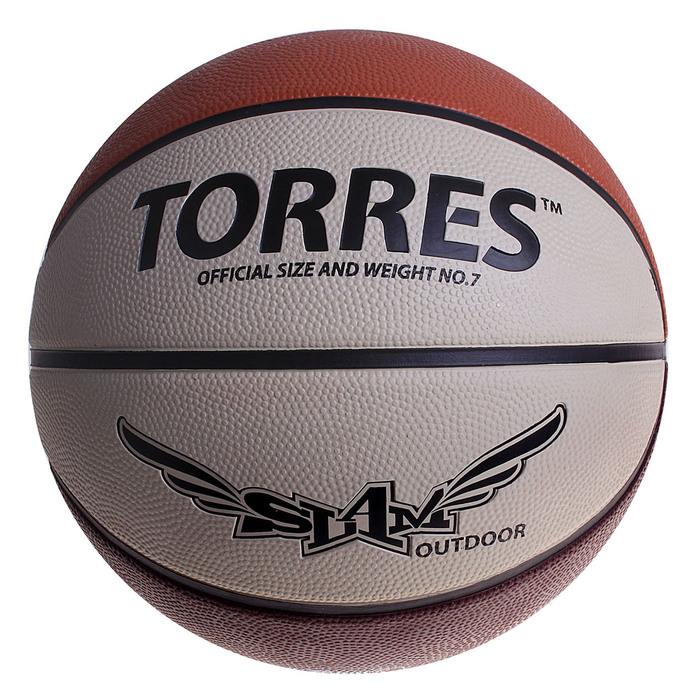 Мяч баскетбольный Torres Slam, B00067, размер 7