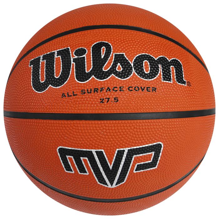 Мяч баскетбольный WILSON MVP, арт.WTB1418XB06, р.6, резина, коричневый