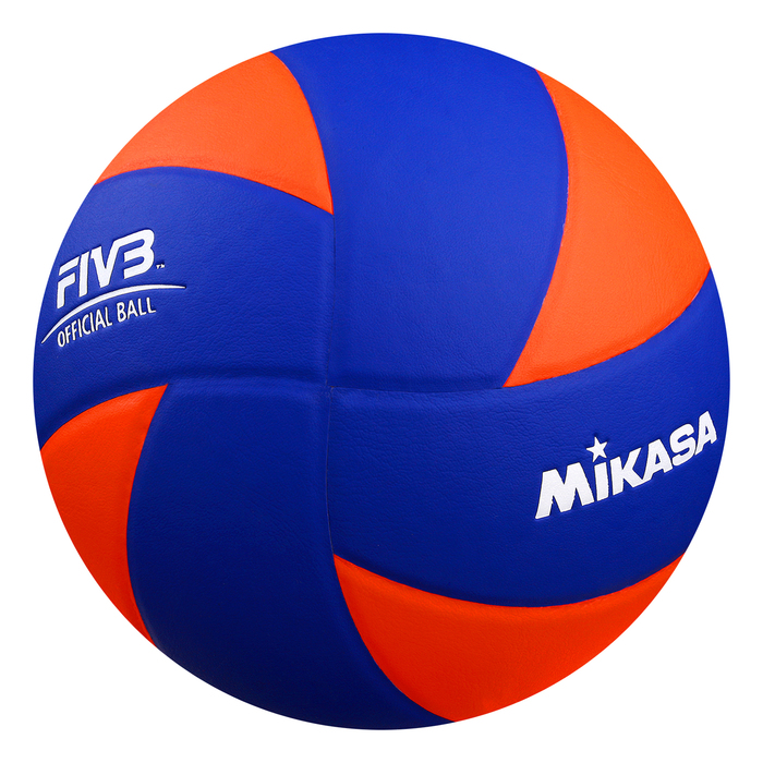 Мяч волейбольный MIKASA MVA380K-OBL, размер 5, искуственная кожа, клееный