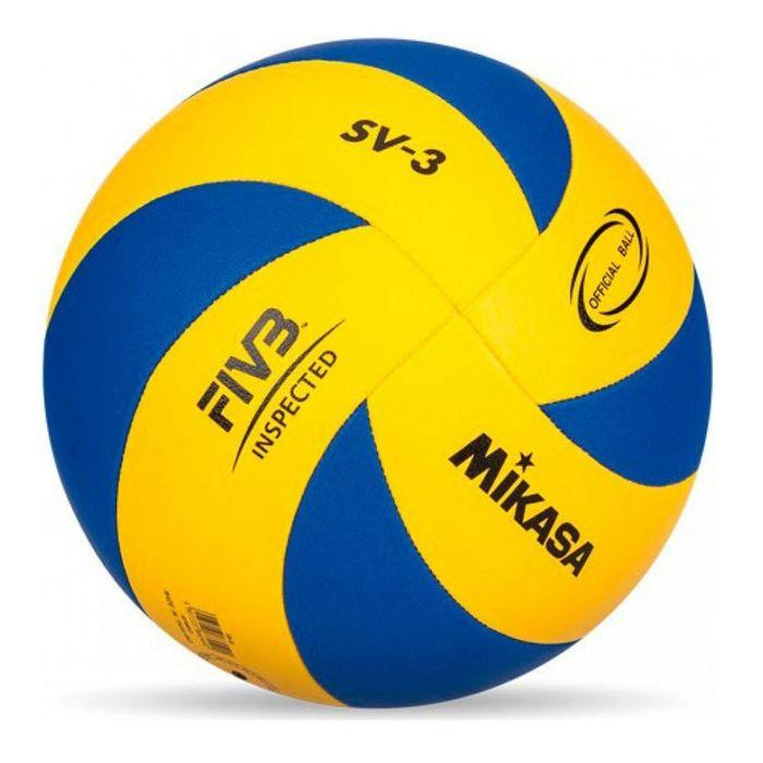 Мяч волейбольный Mikasa SV- 3 School, размер 5, машинная сшивка
