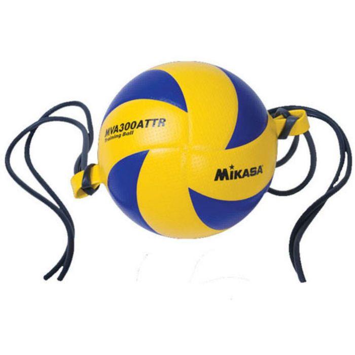 Мяч волейбольный на растяжках Mikasa MVA300 ATTR, размер 5