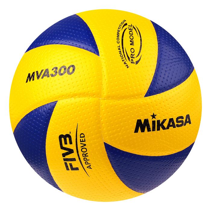 Мяч волейбольный Mikasa MVA300, размер 5, клееный