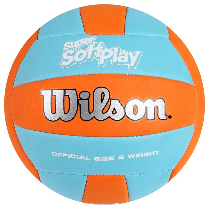 """Мяч волейбольный """"Wilson Super Soft Play"""", WTH90119XB, размер 5, PVC, машинная сшивка"""