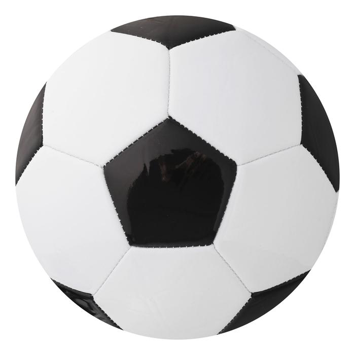 Мяч футбольный, размер 5, PVC, 4 подслоя, машинная сшивка, 310 г