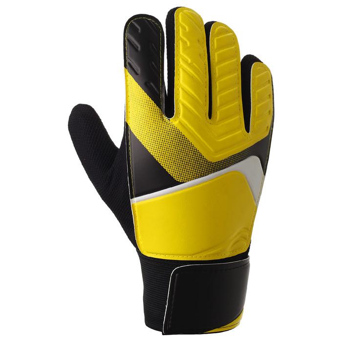 Перчатки вратарские, размер 7, цвет желтый