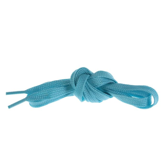 Шнурки для обуви, d = 10 мм, 100 см, пара, цвет голубой