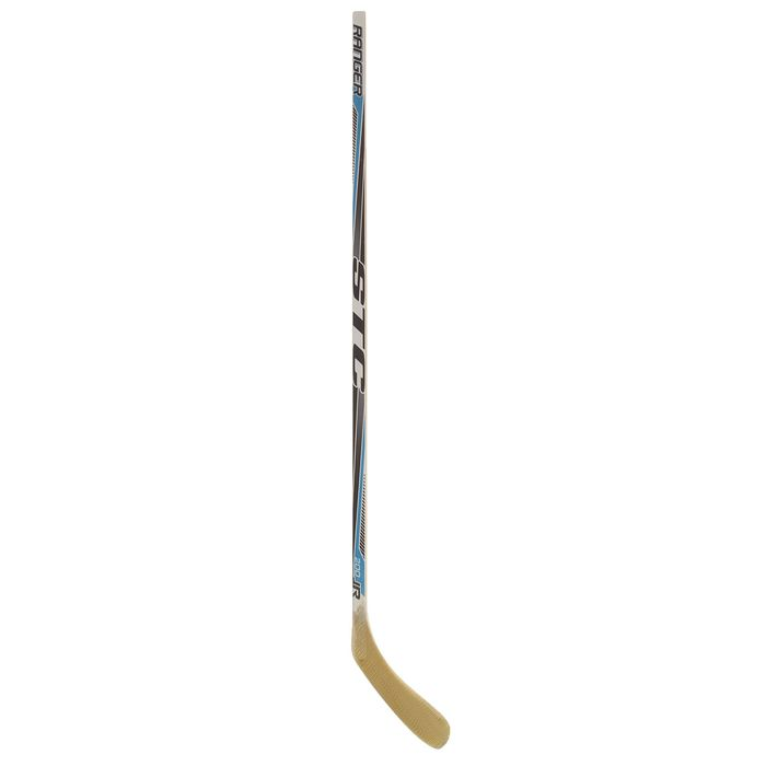 Клюшка хоккейная, левый крюк, ICEBERGER Flicker/Stealth/Ranger/Бренды ЦСТ, юниорская, цвета МИКС