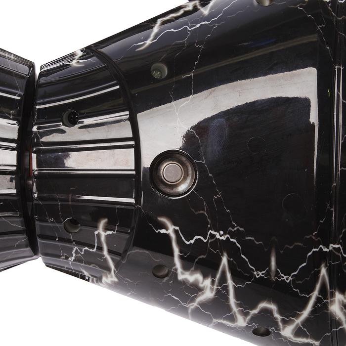 """Гироскутер 8.5"""", цвет чёрная молния"""