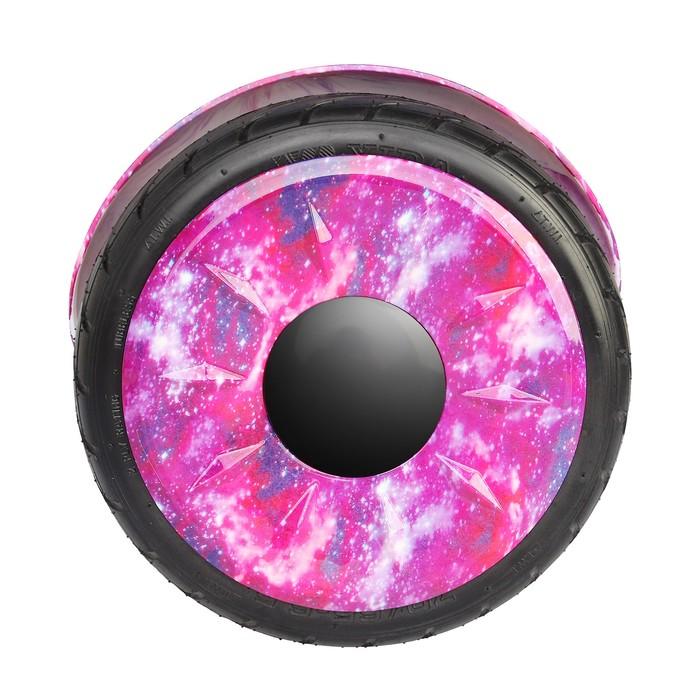 """Гироскутер 10.5"""", цвет фиолетовый космос"""