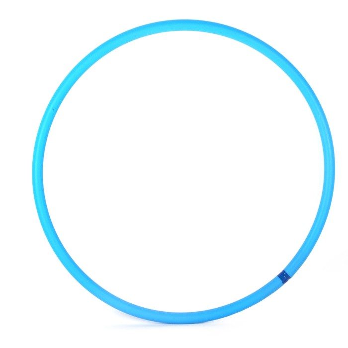 Обруч, диаметр 60 см, цвет голубой У837
