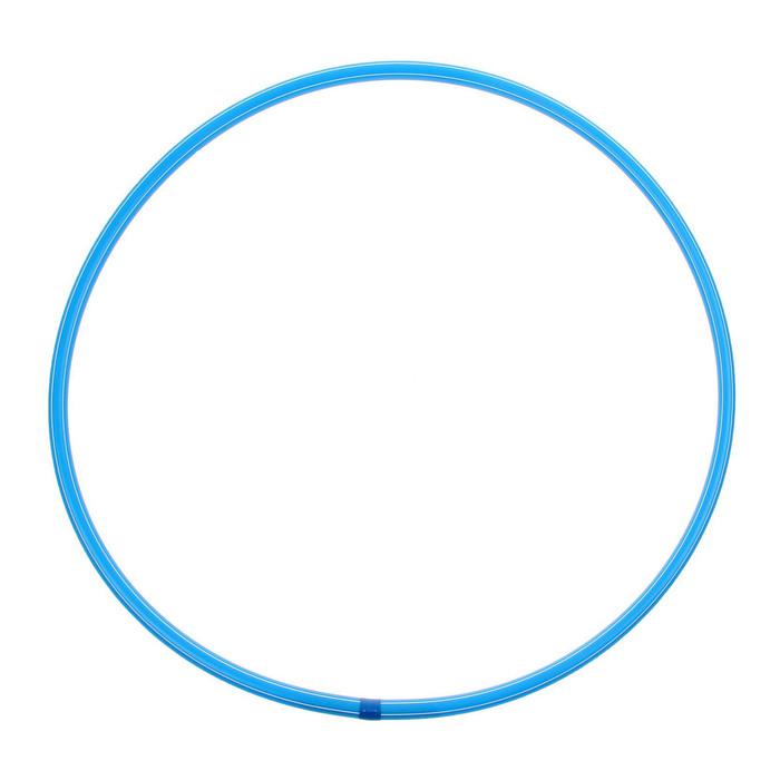 Обруч, диаметр 60 см, цвет голубой